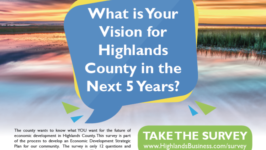 What is Your Vision for Highlands County in the Next 5 Years?
